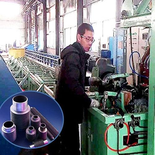高频电阻焊螺旋翅片管生产线