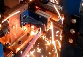H型翅片管焊接设备焊接