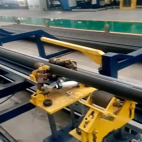 高频螺旋翅片管焊接设备